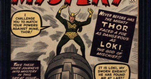 4 Copies of Loki First Appearance at Auction, Journey Into Mystery #85