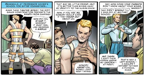 When Iceman Had The Hots For Angel – Sixty Years Ago (Pride Spoilers)