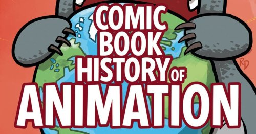 Anime and Pixar in The Comic Book History of Animation #5 [Preview]