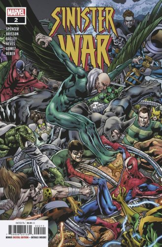 In This Preview of Sinister War #2… Spider-Man WILL DIE?!