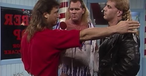 Former WWE Star Marty Jannetty's Phone Stolen by Seagull