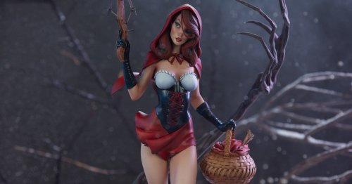 J. Scott Campbell's Red Riding Hood Comes to Sideshow Collectibles