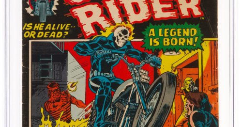 Ghost Rider's First Appearance Taking Bids At Heritage Auctions