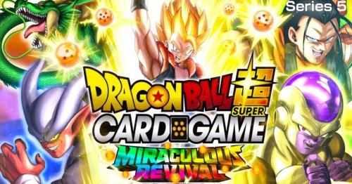 Dragon Ball Super Card Game: Miraculous Revival Checklist