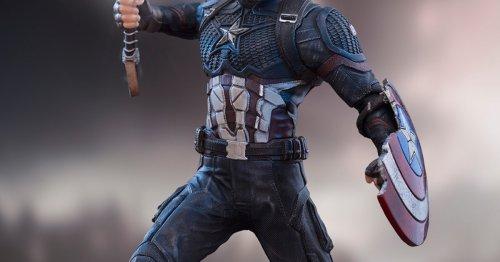 Captain America Wields Mjolnir With New Iron Studios Marvel Statue