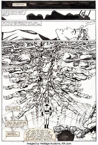 Entire Fantastic Four #254 Original Artwork By John Byrne At Auction