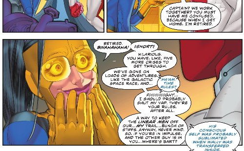 Wally West Has Five More Crisis To Go Through, At Least – Flash #569