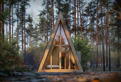 Den DIY Cabin Plans