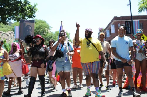 At Drag March For Change, Activists Say Fight For Black Trans Justice Must Continue — Starting In Northalsted