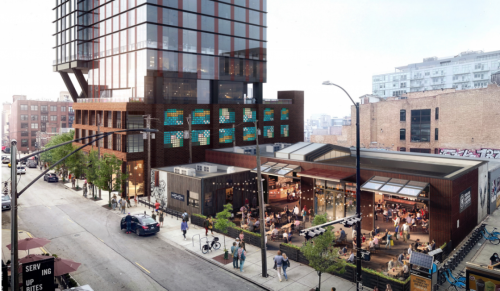 Sterling Bay's 29-Story Fulton Market Apartment Tower Next To Morgan Station Gets Key City Approval