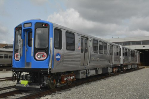 Faster Trains Have Arrived On The Blue Line: Take A Look At The CTA's New 7000-Series Train Cars