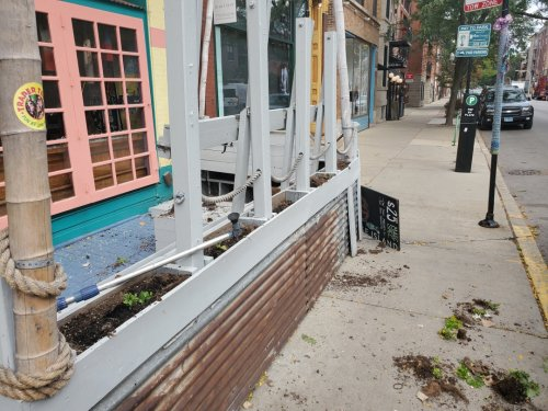 Trader Todd's In Lakeview Vandalized, Defaced With Racist, Anti-Vax Comments: 'We're Completely Dumbfounded'