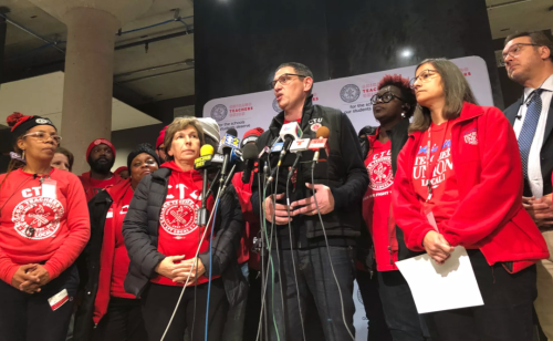 Chicago Teachers Union Threatens To Go Back To Working Remotely Wednesday If No High School Deal Is Reached