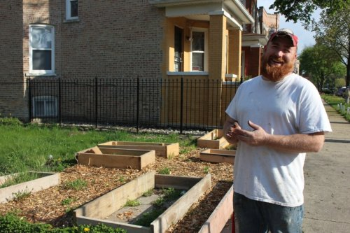 This West Humboldt Park Man Is Transforming His Block With A Network Of Gardens To Combat Food Insecurity, Crime