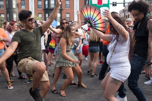 Pride Parade And Market Days Should Require Masks And Other COVID Precautions, Top LGBTQ Health Care Group Says