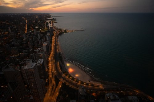 Lake Shore Drive Signs Now Have Its New Name, DuSable Lake Shore Drive, Honoring City's Black Founder