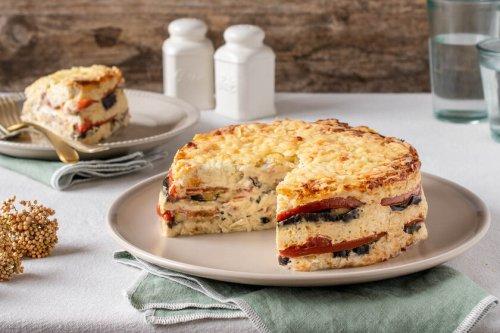 Pastel jugoso de verduras y queso: la receta que se quedará en tu recetario para siempre