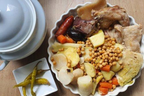 Receta fácil de cocido madrileño con Thermomix