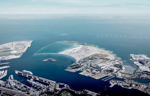 Copenhague ha encontrado una solución a sus problemas de vivienda: construir una isla artificial