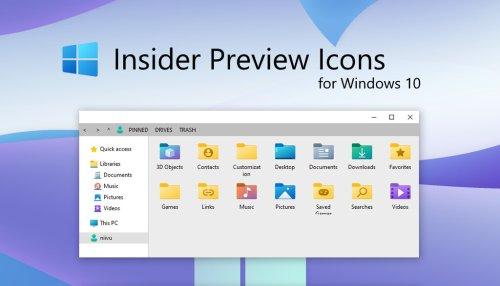 Así puedes usar los nuevos iconos de las carpetas de Windows 10 sin tener que ser Insider