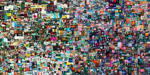 El 'criptoartista' Beeple vende su NFT por 69 millones de dólares: es la obra de arte digital más cara de la historia