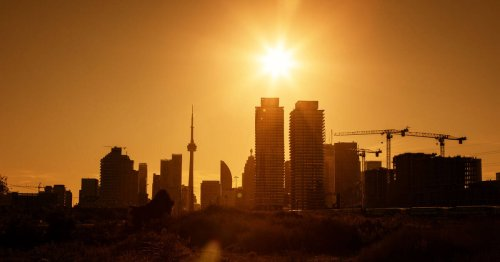 Toronto just broke a record for the longest streak of warm weather