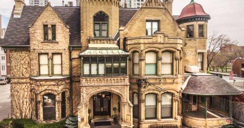 Historic Keg Mansion Restaurant in Toronto is for rent