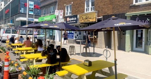 Toronto restaurant devastated after someone stole its tables just before patio reopening