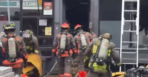 A beloved Toronto burger joint erupted in flames and could be closed for a while