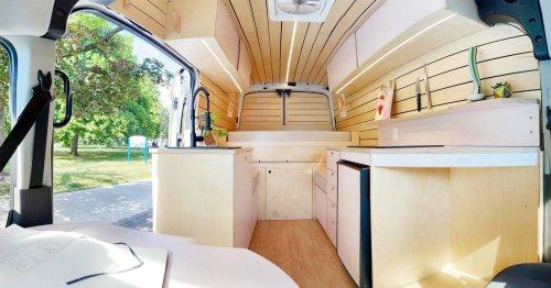 Toronto couple started building offgrid campervans as a side hustle during lockdowns