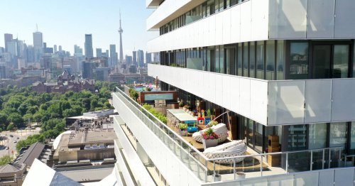 This $8.9 million Toronto condo comes with views of the CN Tower and an infinity pool