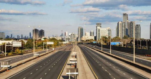 Toronto is shutting down the entire Gardiner Expressway this weekend