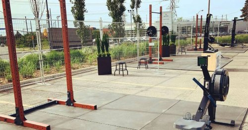 Toronto just got a massive outdoor gym across the street from one of the busiest malls