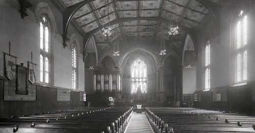 The surprisingly radical history of that church they built the Toronto Eaton Centre around