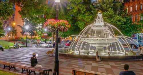 People overjoyed after Toronto's famous dog fountain finally turned on again