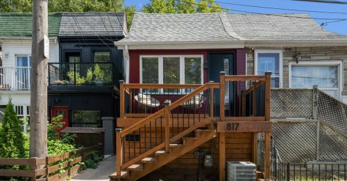 House on one of Toronto's weirdest streets on sale for $700K