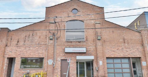 Toronto building that just went up for sale comes with an indoor rock-climbing wall