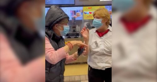 Viral video shows woman without vaccine passport being refused at Toronto McDonald's