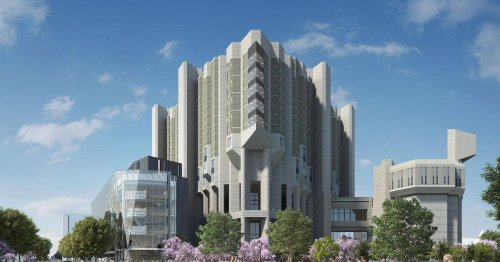 This is what the inside of the expanded Robarts Library at U of T will look like