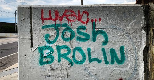 Josh Brolin's name keeps appearing all over Toronto