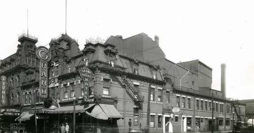 The history of the Grand Opera House in Toronto