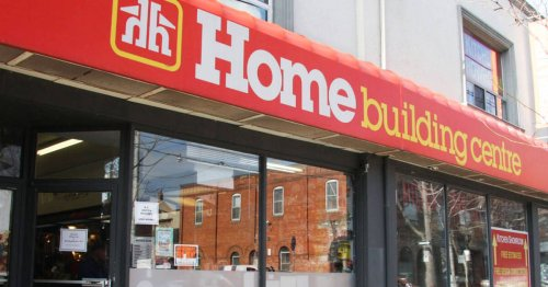 Home Hardware is permanently closing 30-year-old Toronto location