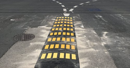 This is why there are new bumps in the middle of some major Toronto intersections