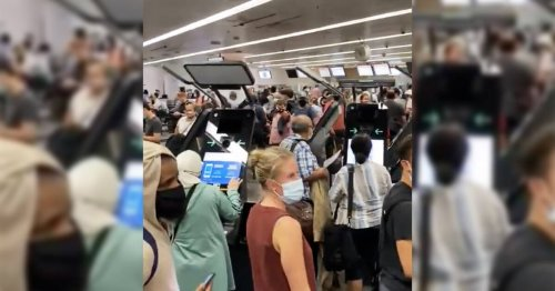 Passengers complain of overcrowding and utter chaos at Toronto's Pearson airport