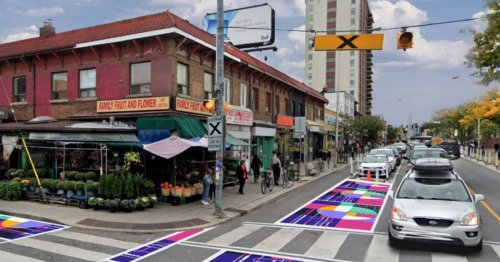 Toronto intersections are about to get a colourful makeover