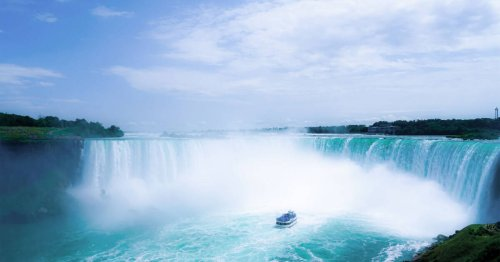 There's a new attraction at Niagara Falls and it comes with breathtaking views of the falls