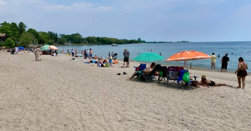 This park is Toronto's local spot for a low-key day at the beach