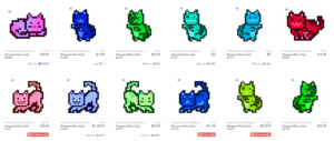 MoonCats: Almost-Free NFT Collectible Felines Are Selling for a Huge Markup