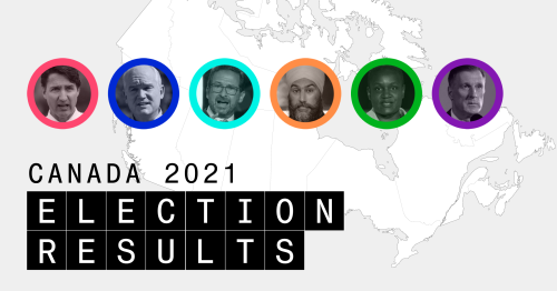 Canadian Election Live Results