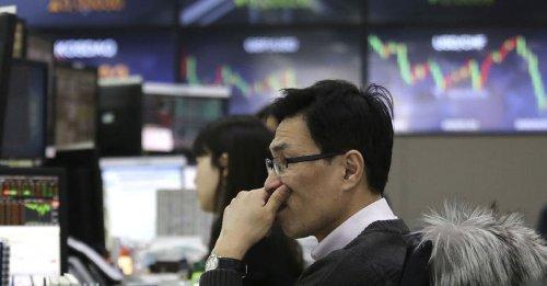 Asya borsaları çoğunlukla düştü, Çin'de üretici ve tüketici fiyatları arttı